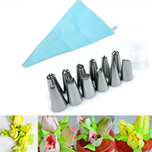 14 Pcs/Set Silicone Icing tips