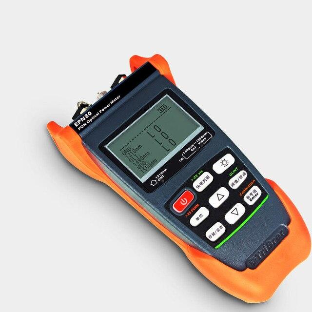 نوعية جيدة يده PON الألياف البصرية السلطة متر EPN80 معدات الألياف البصرية SC/PC 1310/1490/1550nm EPN80 الألياف السلطة متر