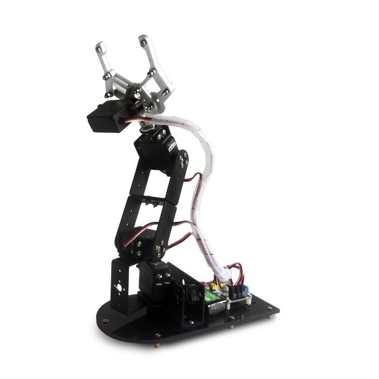 5 DOF Alloy Robot Arm Clamp (1)