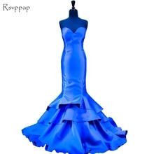 Long Evening Dress 2017 Gorgeous Mermaid Sweetheart Women Formal Gowns Floor Length Royal Blue Evening Gowns