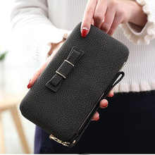 Long wallet paragraph large capacity multi-function mobile phone bag Women fashion female carteira portefeuille