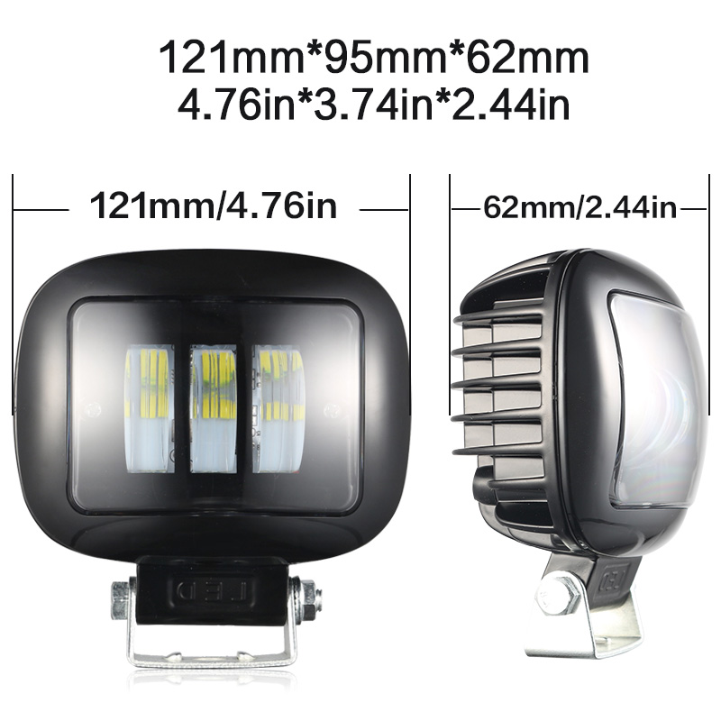 Image 5 - 2PCS 36W led bar Leds car headlight Fog light for auto off road 4x4 for jeep SUV motorcycles Truck Pickup Wagon UTBLight Bar/Work Light   -