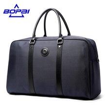 Bopai 2017 деловые мужчины дорожные сумки Сумка Большой Водонепроницаемый Оксфорд мужчины плечо дорожная сумка официальные мужские сумки цвет: черный, синий мужской сумки