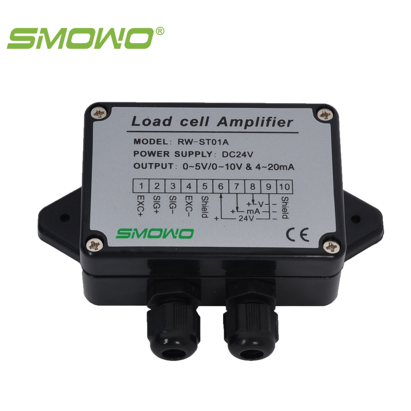 RW-ST01A Load cell / Strain Gauge Amplifier, Dual signal output(0~10V & 4~20mA) and (0~5V & 4~20mA)  цены