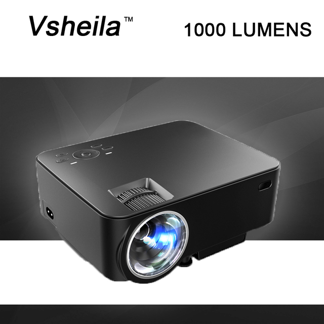 lcd cheap projector full hd mini portable project led projector