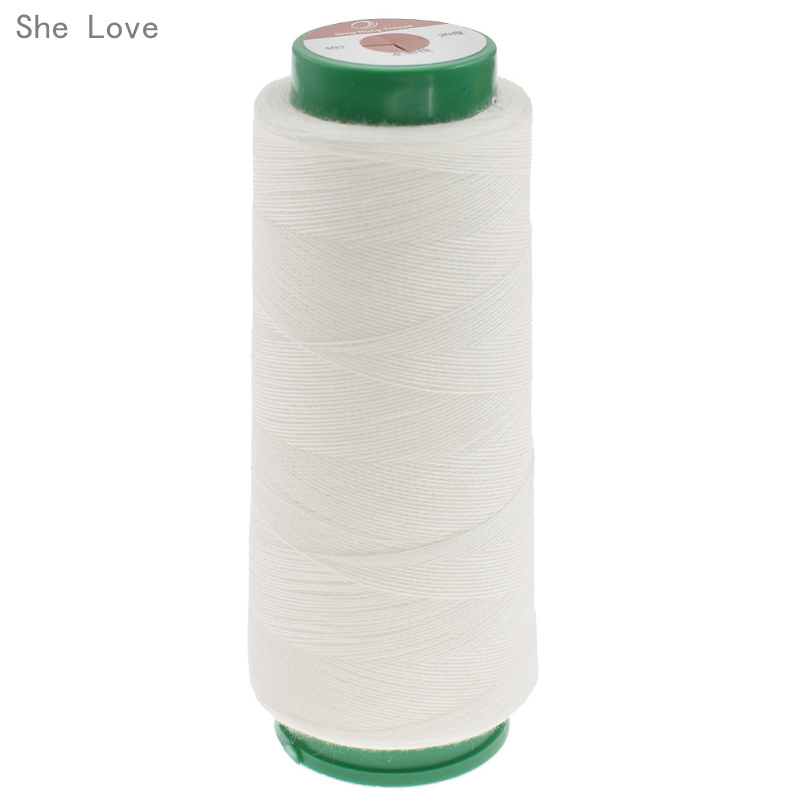 PVA Sewing-Thread Water-Soluble Tex-27-1000m Love-40s/2 Per-Cone She Dissolve Cold 20-Centigrade