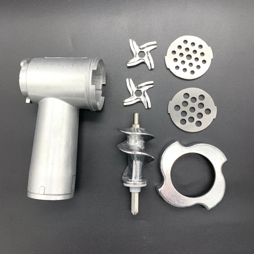 Free shipping Meat Grinder Screw and blades Mincer Auger MS-0695960 SS-989843 for Moulinex meat grinder partsFree shipping Meat Grinder Screw and blades Mincer Auger MS-0695960 SS-989843 for Moulinex meat grinder parts