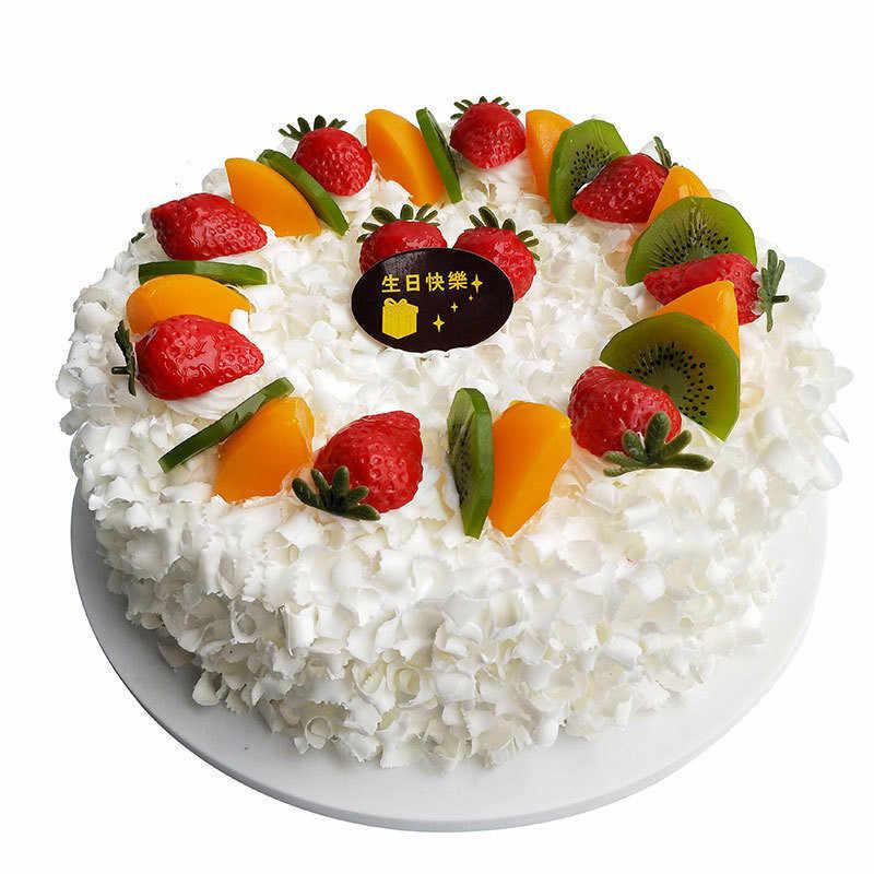 Swell Simulation Cake Model Fruit Rose Birthday Cake Model Fake Cake Funny Birthday Cards Online Overcheapnameinfo
