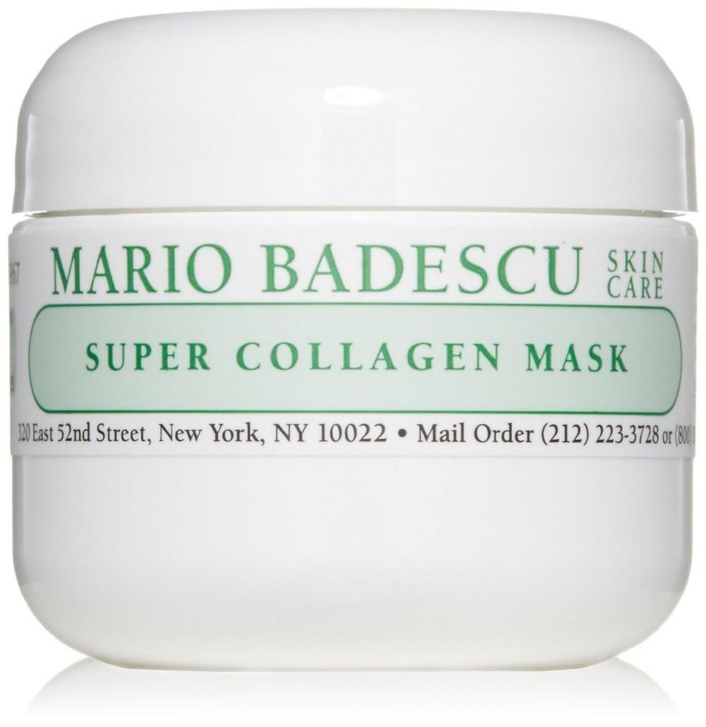 Mario Badescu Super Collagen Mask Skincare for Dry Skin 2 oz mac mineralize skincare лосьон для интенсивного увлажнения mineralize skincare лоьсон для интенсивного увлажнения