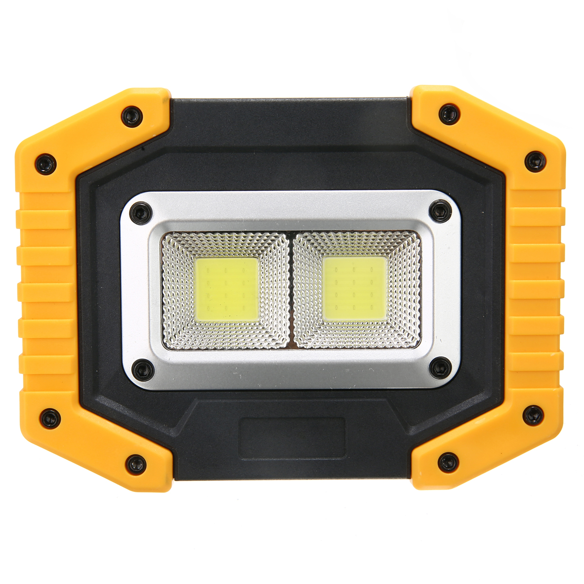 2 COB 30W 800LM Portable IP65 LED Flood Light Spot Lamp Outdoor Camping Hiking Emergency Lighting Spotlights