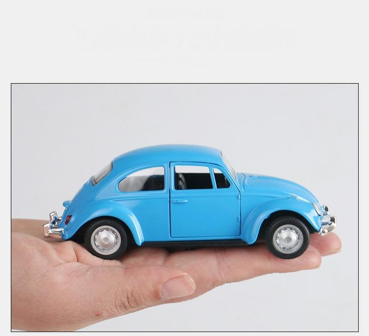 Retro Classic Volkswagen Beetle Model Toy Car 10