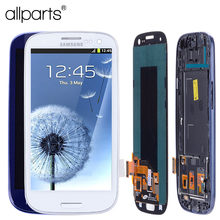 AA 4,8 »i9300i i9300 Дисплей для SAMSUNG Galaxy S3 ЖК-дисплей Экран в сборе с рамкой для SAMSUNG Galaxy S3 Дисплей i9300 ЖК-дисплей