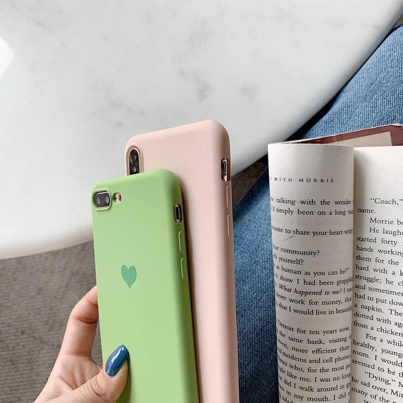 Чехол для телефона huawei P30 P20 Pro mate 20 10 Lite чехол s P Smart 2018 2019 Роскошный милый мягкий силиконовый чехол с сердечком