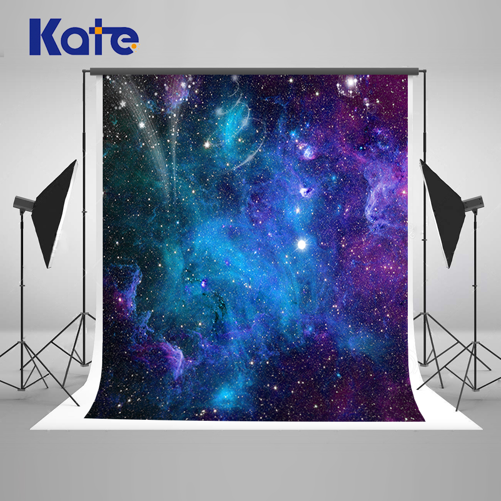 Kate Blue Sky Birthday Photography Backdrops Newborns Background Multi-size Reable Background For Photography Studio