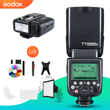 Godox TT685C TT685N TT685S TT685F TT685O 2.4G HSS TTL GN60 Flash Speedlite with X1T Trigger for Canon Nikon Sony Fuji Olympus