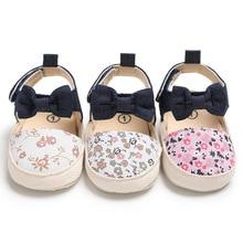 Spring summer and autumn baby girl first walker children's cotton print