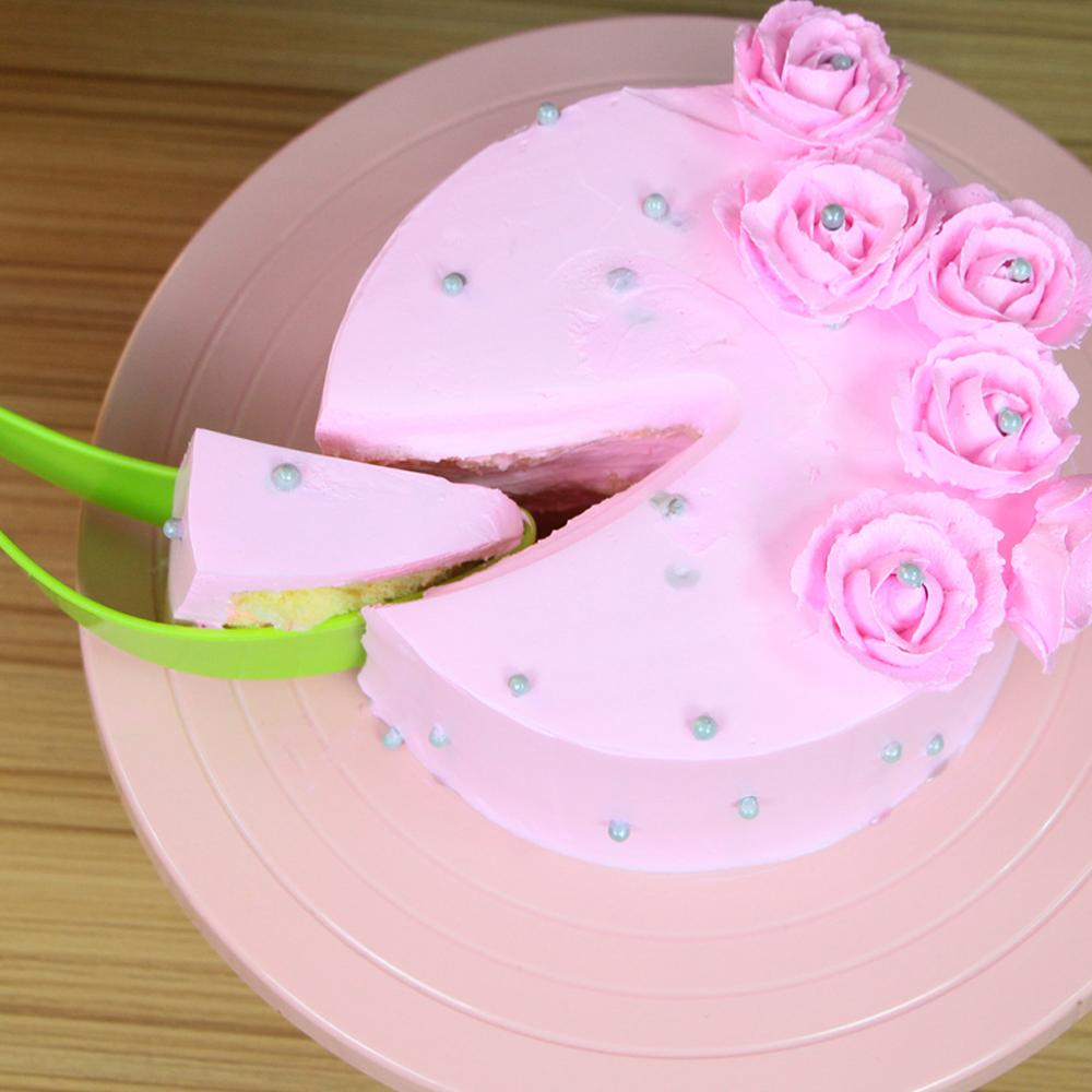 New Arrival,Plastic cake cutting tools slice knife kitchen gadget ...