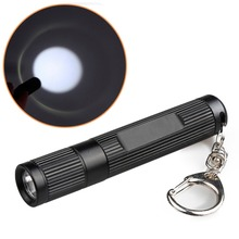 HNGCHOIGE 2000LM LED Pocket Flashlight 3 Modes Keychain Keyring Penlight Torch Portable