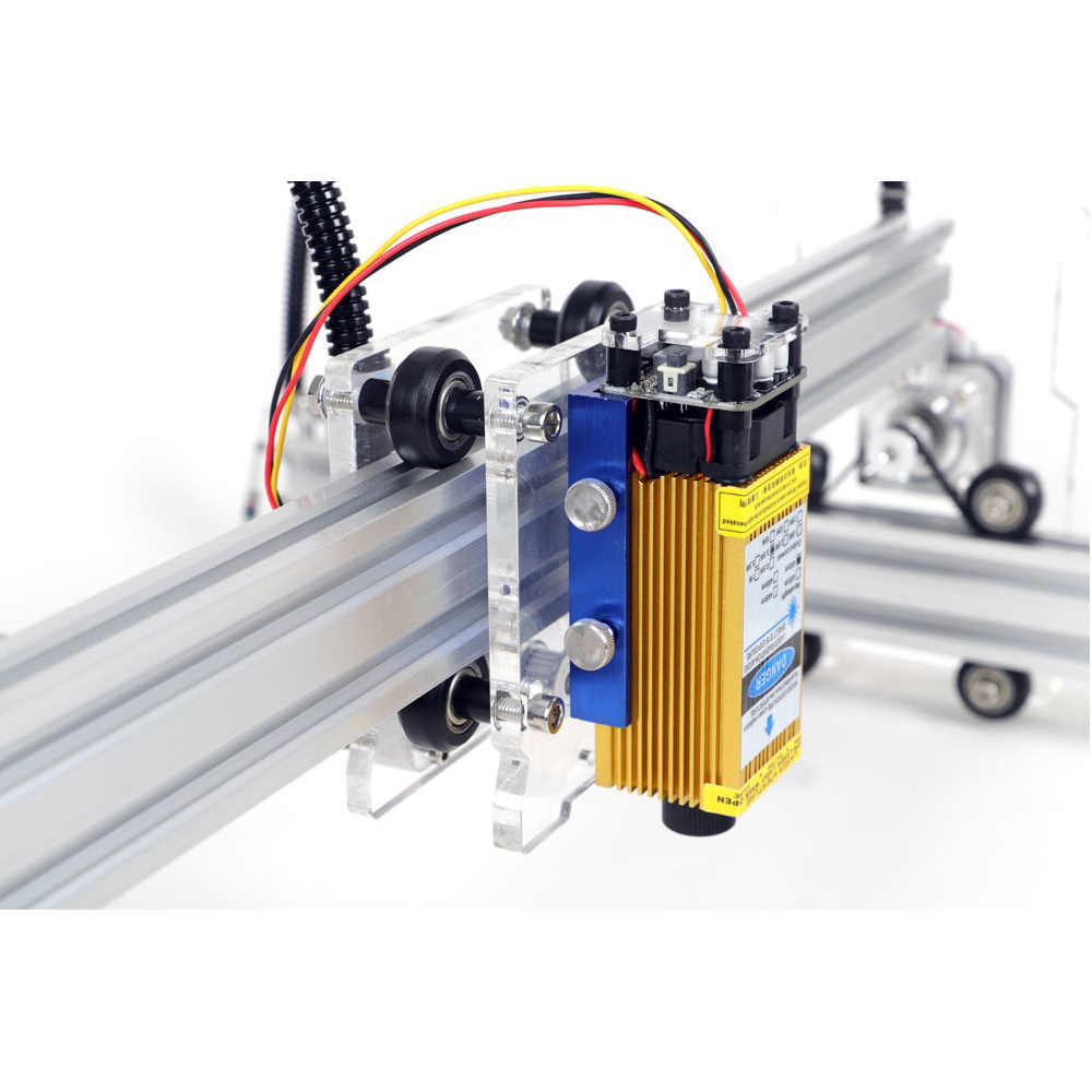 15W nouvelle A3 Pro métal Laser Machine de gravure 500mw 2500mw 5500mw 15000mw bois routeur bricolage Mini Laser Machine de gravure bricolage