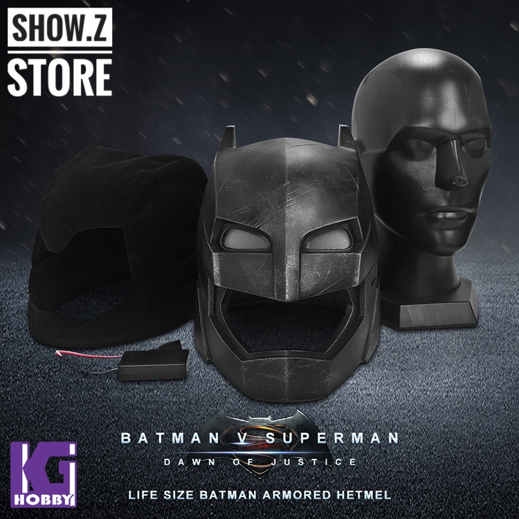 [Show.Z Store] Bretoys 002 1/1 Life-Size Batman Helmet Batman VS Superman Prop набор фигурок batman arkham city batman vs bane 2 в 1 25 см