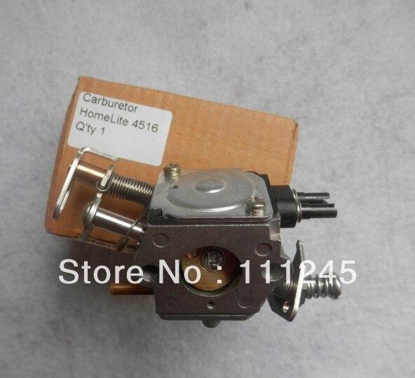 Assemblage de carburateur adapté à la pièce de rechange RYOBI de ventilateur de coupe-brosse HOMELITE 4516