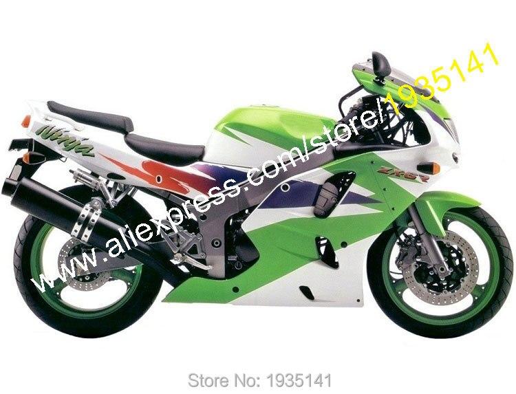Hot Sales,For Kawasaki NINJA ZX-6R 94 95 96 97 ZX6R ZX 6R 1994 1995 1996 1997 Multi-color Aftermarket ABS Motorbike Fairing Kit