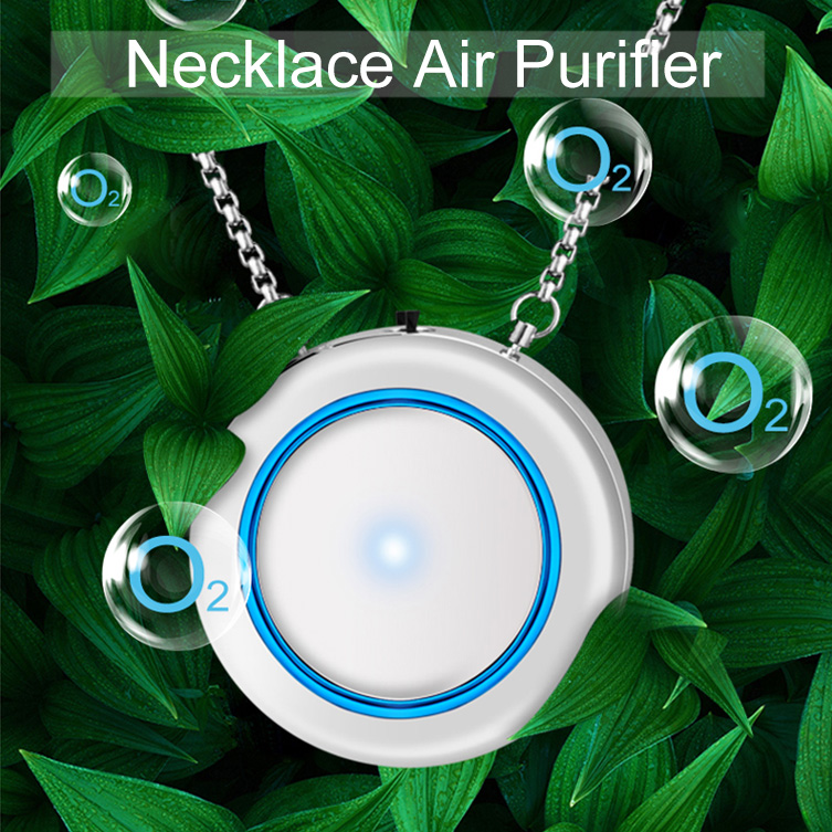 Necklace Air Purifier Pendant Negative Ion Air Cleaner USB Filter PM2.5 Secondhand Smoke Bacterial Formaldehyde PurifierNecklace Air Purifier Pendant Negative Ion Air Cleaner USB Filter PM2.5 Secondhand Smoke Bacterial Formaldehyde Purifier
