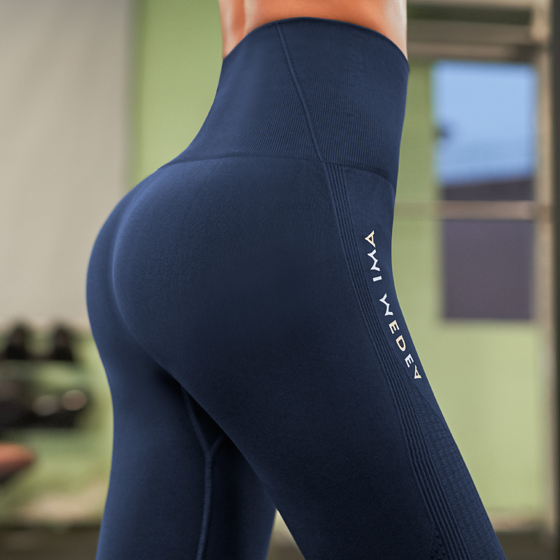 2020 Stretchy Gym Tights Sexy Push Up Tummy Control Yoga Pant High Waist Sport Legging Fitness Running Capri Pant Women