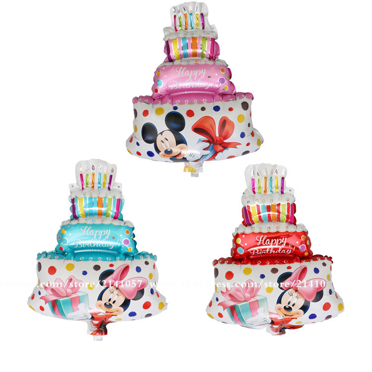 New arrival 30pcs/lot Minnie Mickey Mini Cake Cartoon ...