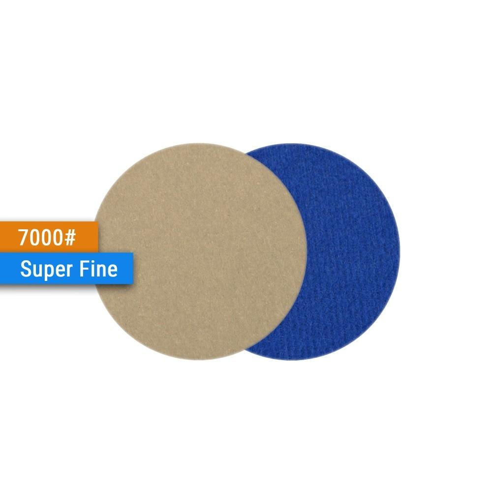 Купить с кэшбэком 30PCS 2 Inch(50mm) Silicon Carbide Hook&Loop Waterproof Sanding Discs for Wet/Dry Sanding Rotary Tools Polishing Accessories