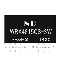 ФОТО .dcdc 48V step-down power module turn negative 15V DC-DC isolated power WRA4815CS-3W genuine