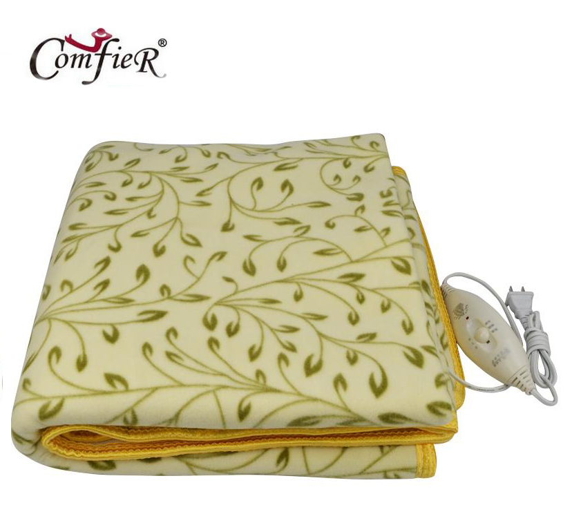 ФОТО High-grade Plush Heated Blanket Double Electric Blanket Waterproof Safety Thermostat Electric Heating Blanket 150 * 120cm