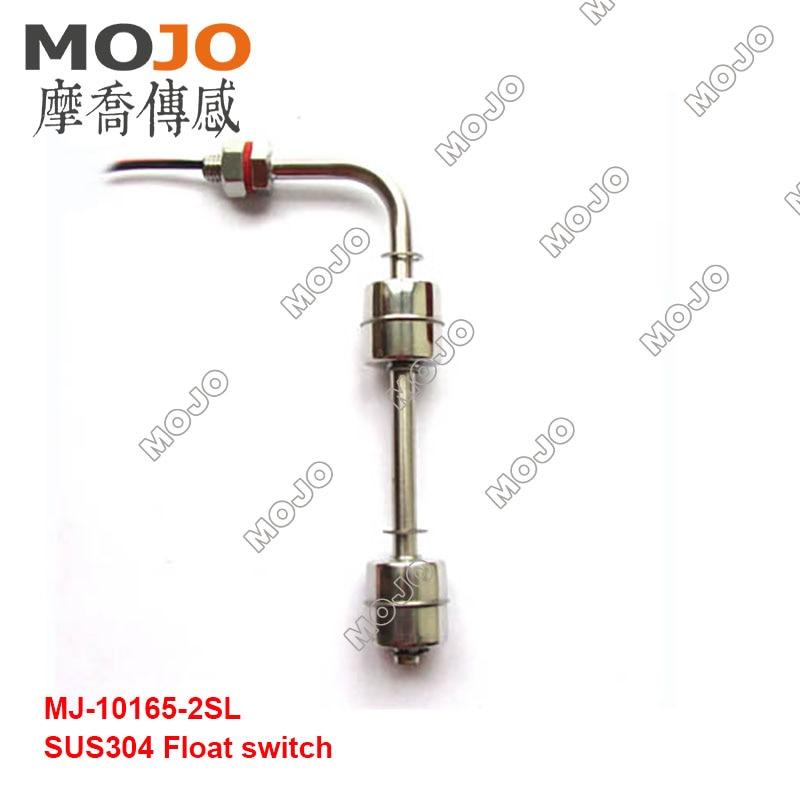 2019 MJ-10165-2SL (10 pcs/lots) deux balles SUS304 commutateur de niveau de montage latéral commutateur de flotteur de réservoir commutateur de contrôle de débit d'eau - 2