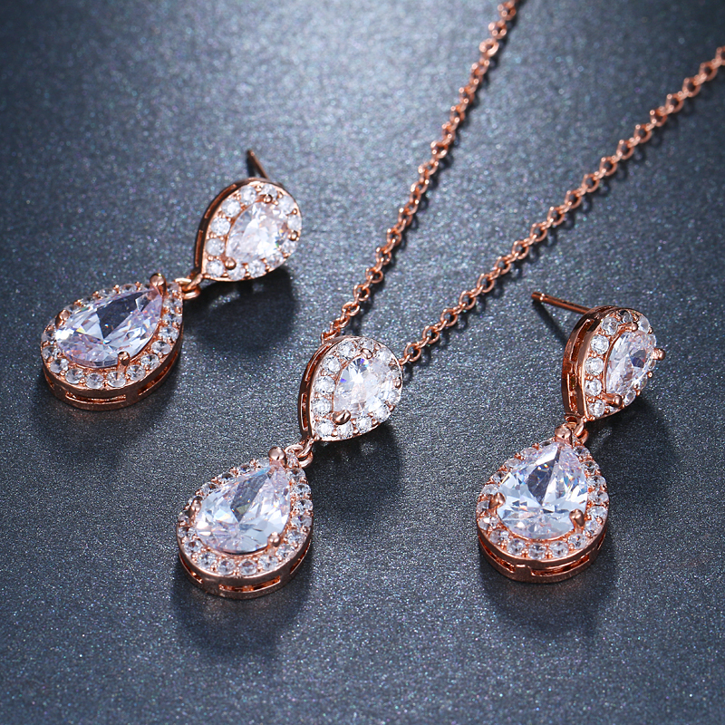 f95dd7e84616 Personalizados de corona nombre Collar personalizado de plata de la joyería  de rosa de oro de