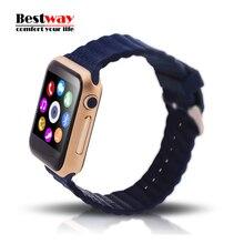 """Bluetooth Smart Watch V9 Für Ios-system Monitor Herzfrequenz Schrittzähler Remote Camera 1,54 """"Ips-bildschirm Smartwatches Stereo Musik"""
