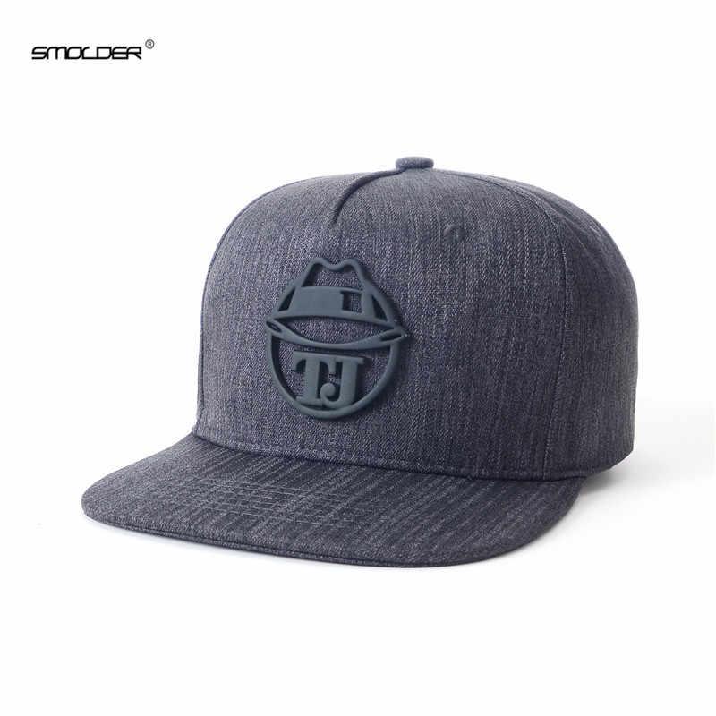[Smold] 2019 جديد وصول شعبية قبعات الرجال قبعة بيسبول عادية الهيب هوب للجنسين قبعات ترد لمكانها
