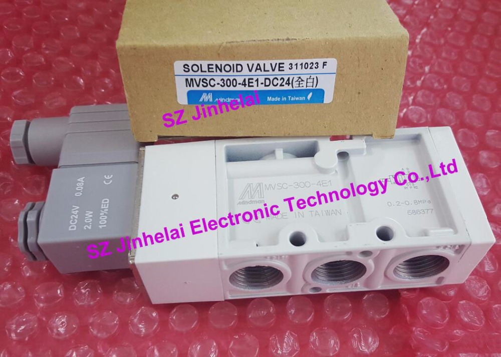 MVSC-300-4E1(DC24V AC220V) New and original MINDMAN Solenoid valve Made in Taiwan стоимость