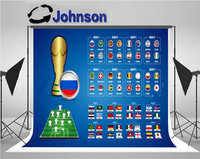 wall backdrop Vinyl cloth High quality Computer print World In Russia Country Flags. backgrounds
