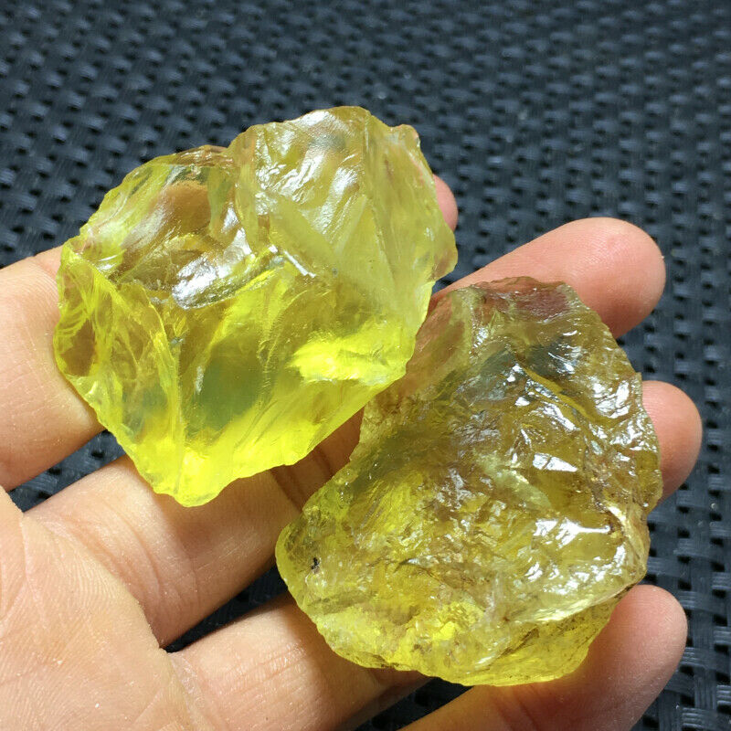 2PC Natural CITRINE Crystal Rough Raw Stone Rock Specimen Brazil2PC Natural CITRINE Crystal Rough Raw Stone Rock Specimen Brazil