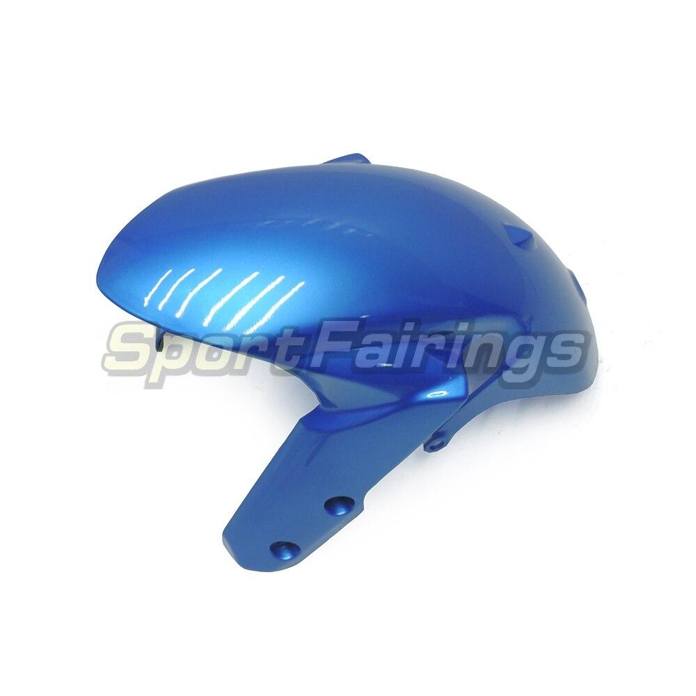 Обтекатели для Suzuki GSXR600 GSXR750 K11 11 12 13 14 2011 2012 2013 впрыска ABS Пластик мотоцикл обтекатель комплект сине-белые