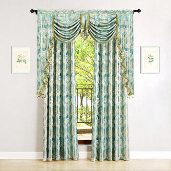 Golden Royal Luxury Window Curtains 2