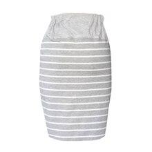 Classic Cotton Maternity Skirt