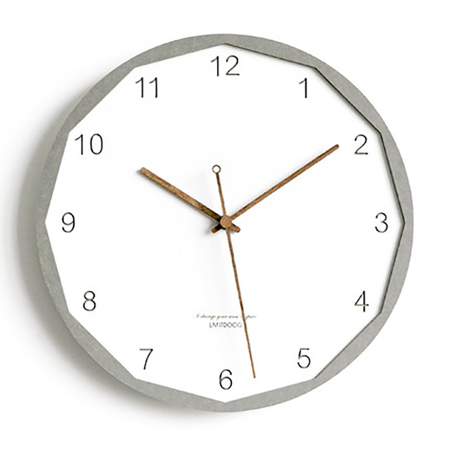 Nordic Creative Wall Clock Simple Fashion Wall Clock European Household Clocks Modern Living Room Quartz Clock Home Decor WZH300