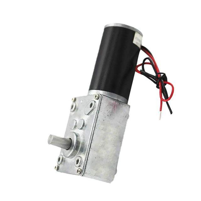 Реверсивный электродвигатель постоянного тока 12 В с редуктором червячного типа с высоким крутящим моментом турборедуктор с микромотором редуктор с прямым углом