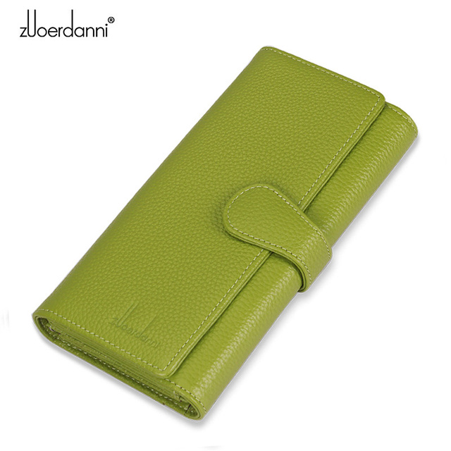 df393c3c4f4 Zuoerdanni 2015 New Hot Sale Wallet Women's Wallet Genuine Solid Leather  Wallet Fashion Women Gift for Women High Quality A183