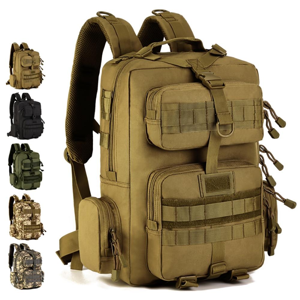 Men 1000D Nylon Designer Military Assault Molle Backpack Daypack Riding Travel Famous Famous Laptop Bag Rucksack