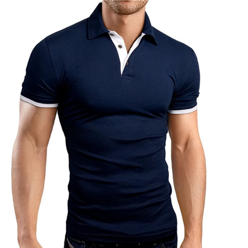2018 hombres Polo para hombres Desiger Polos hombres ropa de algodón camisa de manga corta Jerseys Golftennis tamaño M-XXXL
