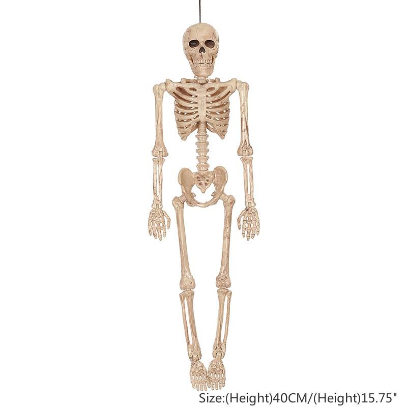1575 Halloween Props Human Skull Full Body Skeleton Haunted House