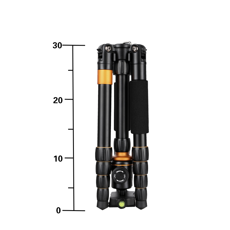 Q278 Travel Tripod 1330mm  Camera Monopod with Detachable Ballhead  Kit  For Digital SLR Camera