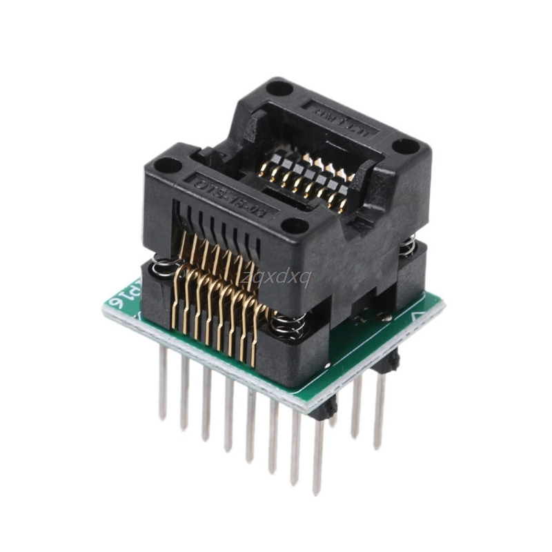 SOP16 TO DIP16 SOP16 Turn DIP16 SOIC16 To DIP16 IC Socket Programmer Adapter Socket 150mil Whosale&Dropship